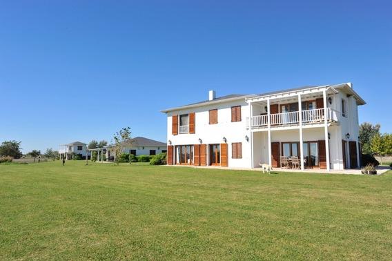 Barrio Laguna Vitel, Casa En Alquiler, Chascomus.-