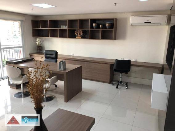 Sala Para Alugar, 50 M² Por R$ 2.300/mês - Tatuapé - São Paulo/sp - Sa0544