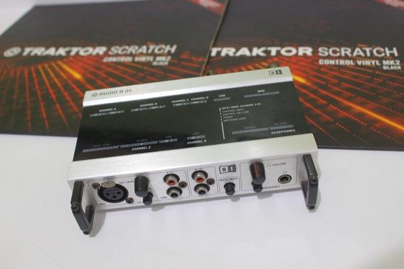 Placa Traktor Audio 8 Com Time Code