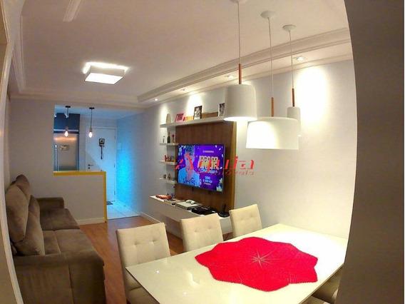 Cobertura Com 2 Dormitórios À Venda, 50 M² Por R$ 330.000 - Jardim Santo Antônio - Santo André/sp - Co0629