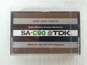 2 Fitas Cassette Tdk Sa Lacradas Raras Anos 70 Made In Japan