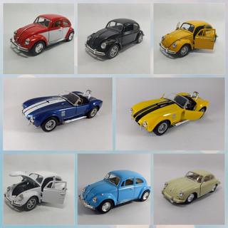 Miniatura Coleção Carrinhos Kit Com 6
