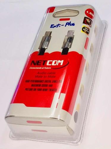 Cable Extension Plug 3.5mm De 1.80 Metros Netcom