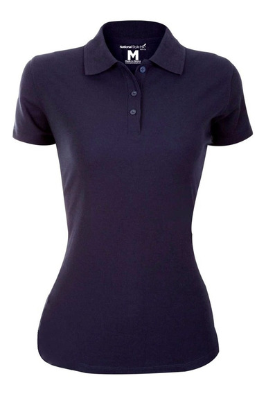 Playera Polo Casual Para Dama National Style