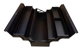 Caja Para Herramientas Metalica Fuelle Bahco 530x200x200 Plegable 5 Compartimentos Modelo 3149 Bk