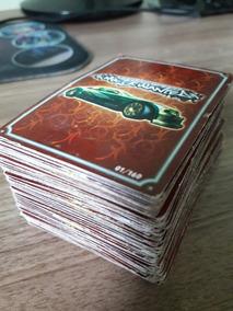 Lote Com 144 Cards Coleção Need For Speed Most Wanted