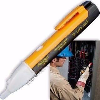 Voltimetro Caneta Teste Detector Tensão Sem Desencapar Fio