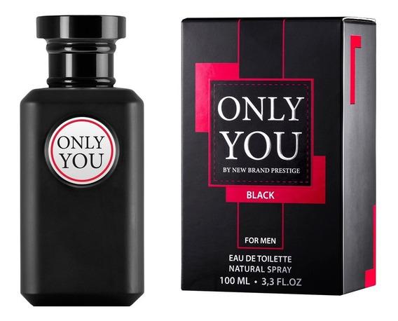 Prestige Only You Black For Men New Brand - Perfume Masculino Eau De Toilette 100ml