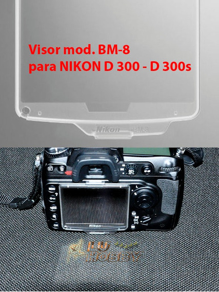 Protetor Lcd Cover Screen Bm 8 P/ Nikon D300 Bm8