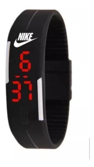 Kit Com 5 Relógios De Pulso Nike Digital Led Unissex