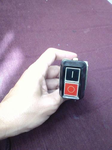 Boton Pulsador De Maquinas 220v