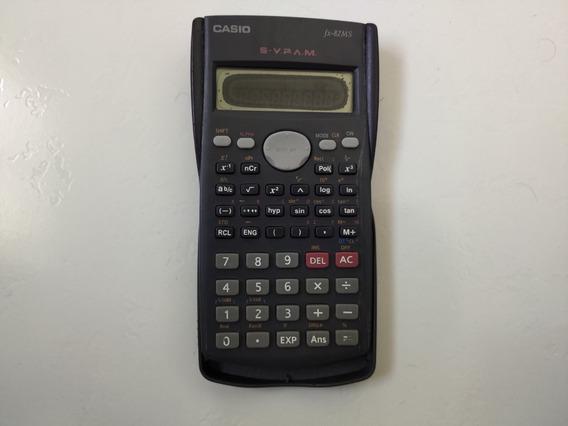 Calculadora Casio Fx-82ms (leia A Descrição Do Anúncio)