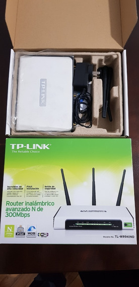 Tp-link Router Inalambrico 300 Mbps - Tl-wr941nd