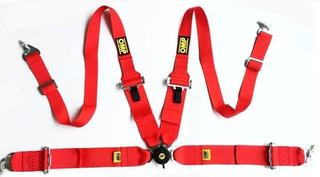 Cinturon De Seguridad Racing 4 Puntos Universal Omp