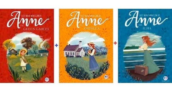 Kit 3 Livros - Anne De Green Glabes