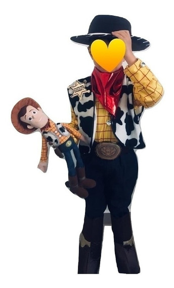 Disfraz Woody Toy Story Tallas 1, 2, 4, 6 Y 8