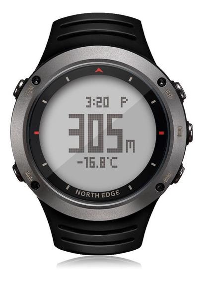 Relógio North Edge Altay Bússola, Altímêtro, Barômetro, Temperatura, Previsão Do Tempo, Cronômetro... ( Original)