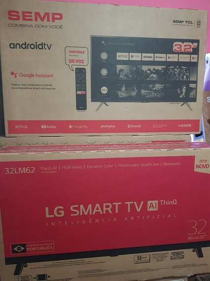 Smart Tv Android Os Wi-fi 32 Hd Tcl 32s6500s 2 Hdmi 1 Usb