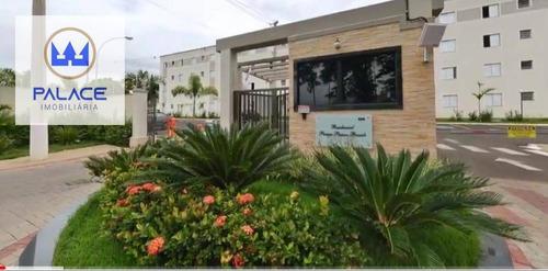 Apartamento Com 2 Dormitórios Para Alugar, 47 M² Por R$ 563,00/mês - Campestre - Piracicaba/sp - Ap0506