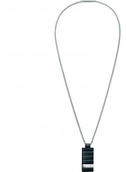 Collar Calvin Klein Plate Hombre Kj5sbp280100