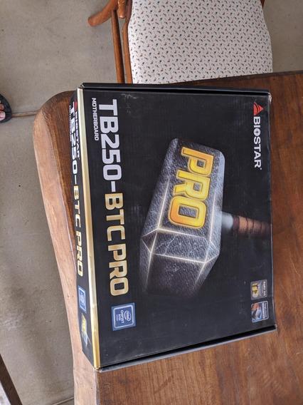 Placa Mãe Tb250 Btc Pro Intel Celeron