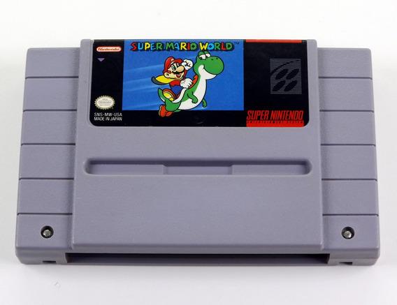 Super Mario World Original Super Nintendo Snes