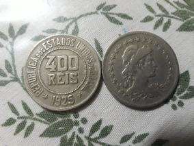 2 Moedas 400 Reis 1925