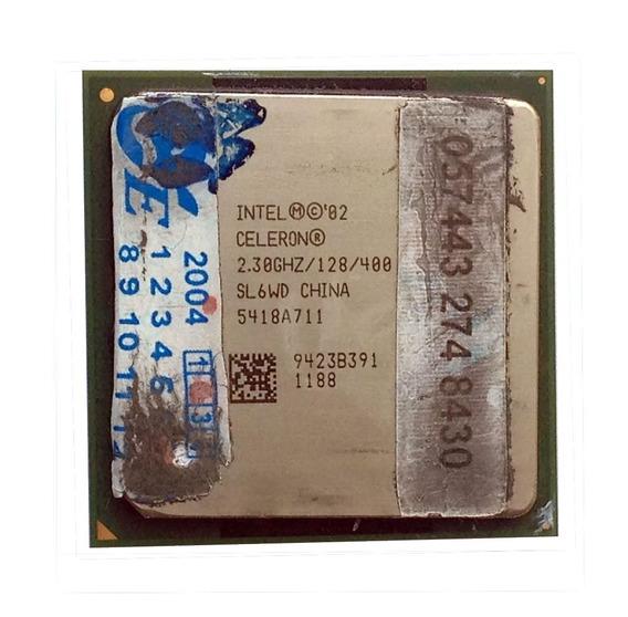 Processador (pc) Intel Celeron 2.30ghz 128k Cache Sl6wd #733