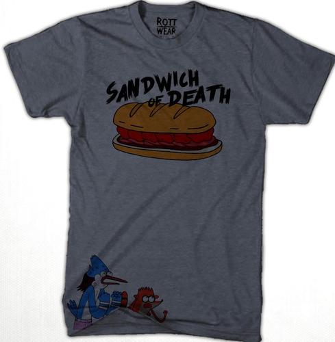 Imagen 1 de 2 de Playera Sandwich Of Death Un Show Mas Rott Wear Envío Gratis