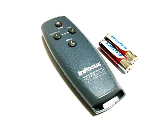 Controle Remoto Laser Point Projetor Infocus Lp120 & Compat.