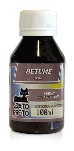 Kit 3 Betume - 100 Ml - Preto Gato Preto