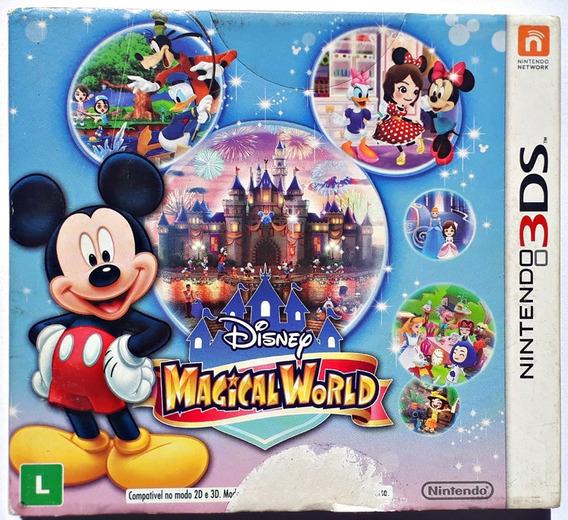 Jogo Disney Magical World Nintendo 3ds Original Completo