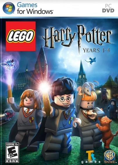 Jogo Lego Harry Potter Pc Game Mídia Física Português Novo