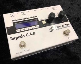 Pedal Torpedo Cab C.a.b Two Notes (simulador, Ir, Kemper,hx)