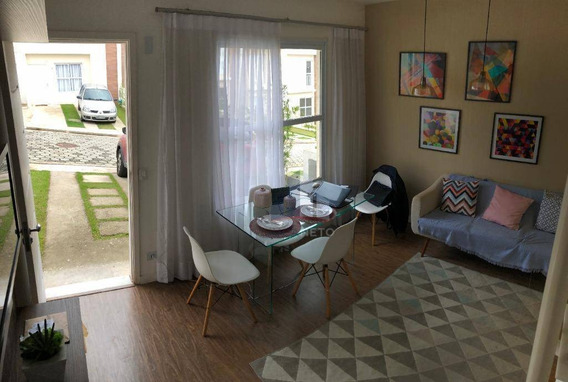 Sobrado Com 2 Dormitórios À Venda, 55 M² Por R$ 220.000 - Vila Rosal - Ribeirão Pires/sp - So0138