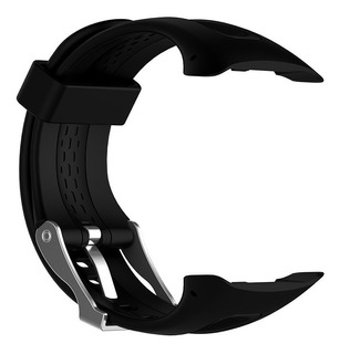 Malla Para Reloj Garmin Forerunner 15 Color Negro Siliconas