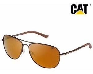 Anteojos De Sol Caterpillar Cat 16008 Polarizados