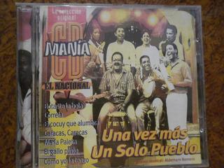 Cd Original De Un Solo Pueblo Cd Manía Usado.