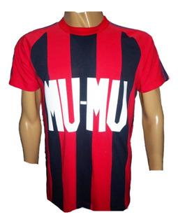 Camiseta San Lorenzo Retro 1982 Publi Mu Mu