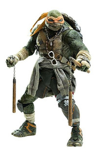 Tmnt Out Of The Shadows Michelangelo Figura 1/6 Threezero