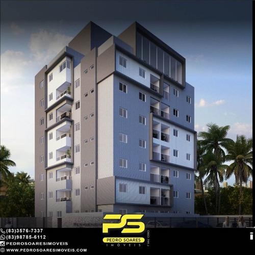 Imagem 1 de 1 de Apartamento Com 2 Dormitórios À Venda, 58 M² Por R$ 253.000,00 - Portal Do Poço - Cabedelo/pb - Ap5052