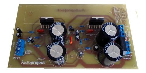 Imagen 1 de 10 de Modulo Amplificador Estereo De 100+100 W Puenteable A 200 W