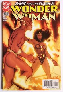 Wonder Woman 197 (dc 2003) Portada De Adam Hughes.