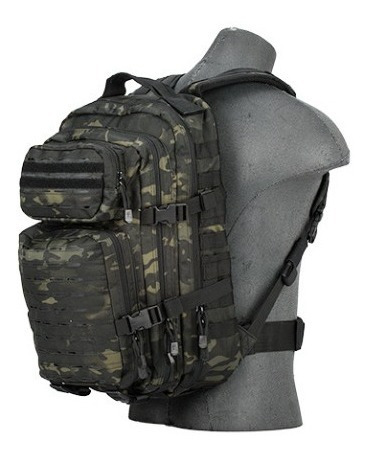 Mochila Negra Tactical Camuflaje Xtreme P