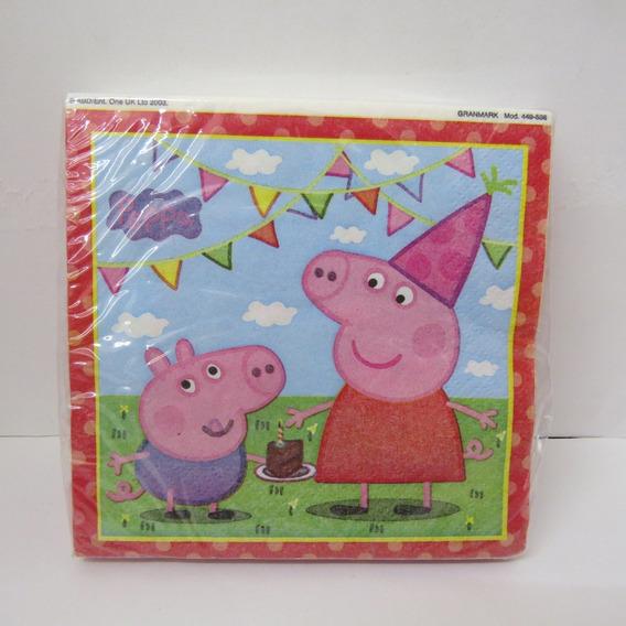 Servilletas Para Fiesta De Peppa Pig