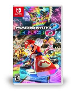 Mario Kart 8 Deluxe Switch Nuevo Sellado Original