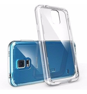 Capa Tpu Galaxy S5 G900m 900md+ Pelicula Vidro Temperado
