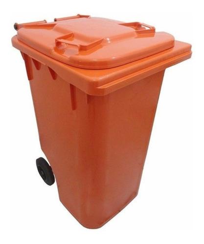 Contêiner Com Rodas Para Lixo 240l