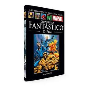 Livro Oficial De Graphic Novels Marvel - Quarteto Fantástico