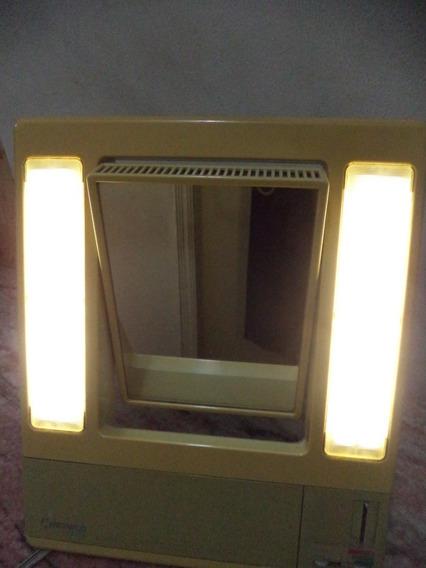 Espelho De Maquiagem Com Luz Antigo De Mesa 110 Volts